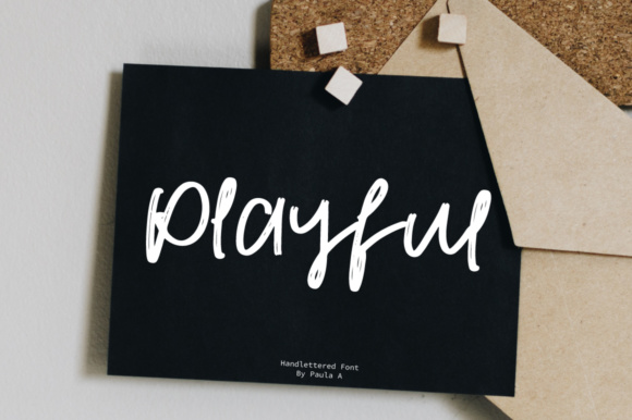 Print on Demand: Playful Script & Handwritten Font By PaulaType