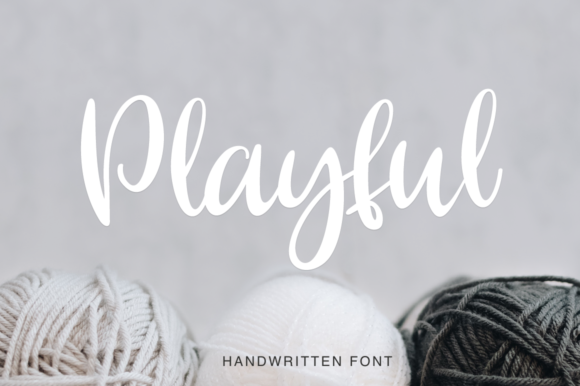 Print on Demand: Playful Script & Handwritten Font By Pasha Larin