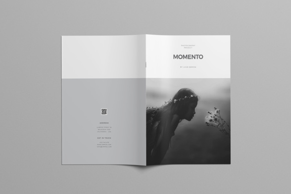 Portfolio Template Graphic Print Templates By meenom - Image 2