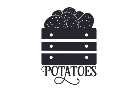 Potatoes Craft Design By Creative Fabrica Crafts