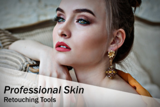 Professional Skin Retouching Tools Graphic By Eldamar Studio