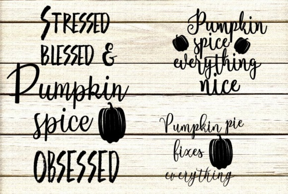 Download Free Pumpkin Quotes Bundle Graphic By Design Haul Creative Fabrica for Cricut Explore, Silhouette and other cutting machines.