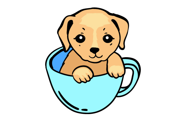 Download Free Puppy Mug Svg Cut File By Creative Fabrica Crafts Creative Fabrica for Cricut Explore, Silhouette and other cutting machines.