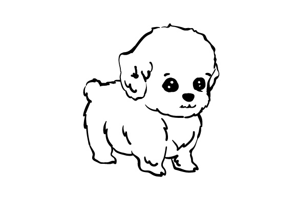 Download Free Puppy Svg Cut File By Creative Fabrica Crafts Creative Fabrica SVG Cut Files