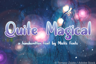 Quite Magical Font By Misti