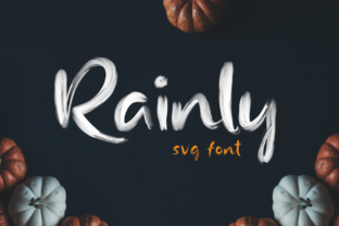 Print on Demand: Rainly Color Fonts Font By craftsupplyco