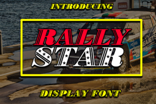 Rally Star Font By Boombage