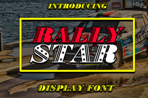 Print on Demand: Rally Star Display Font By Boombage