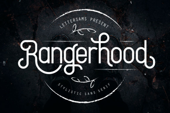 Print on Demand: Rangerhood Display Font By Lettersams