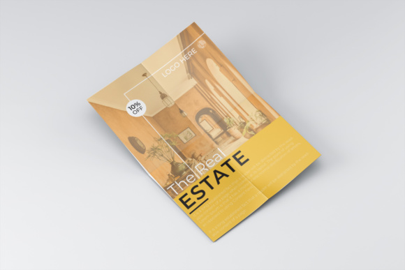 Real Estate Flyer Design Graphic Print Templates By harizandy - Image 1