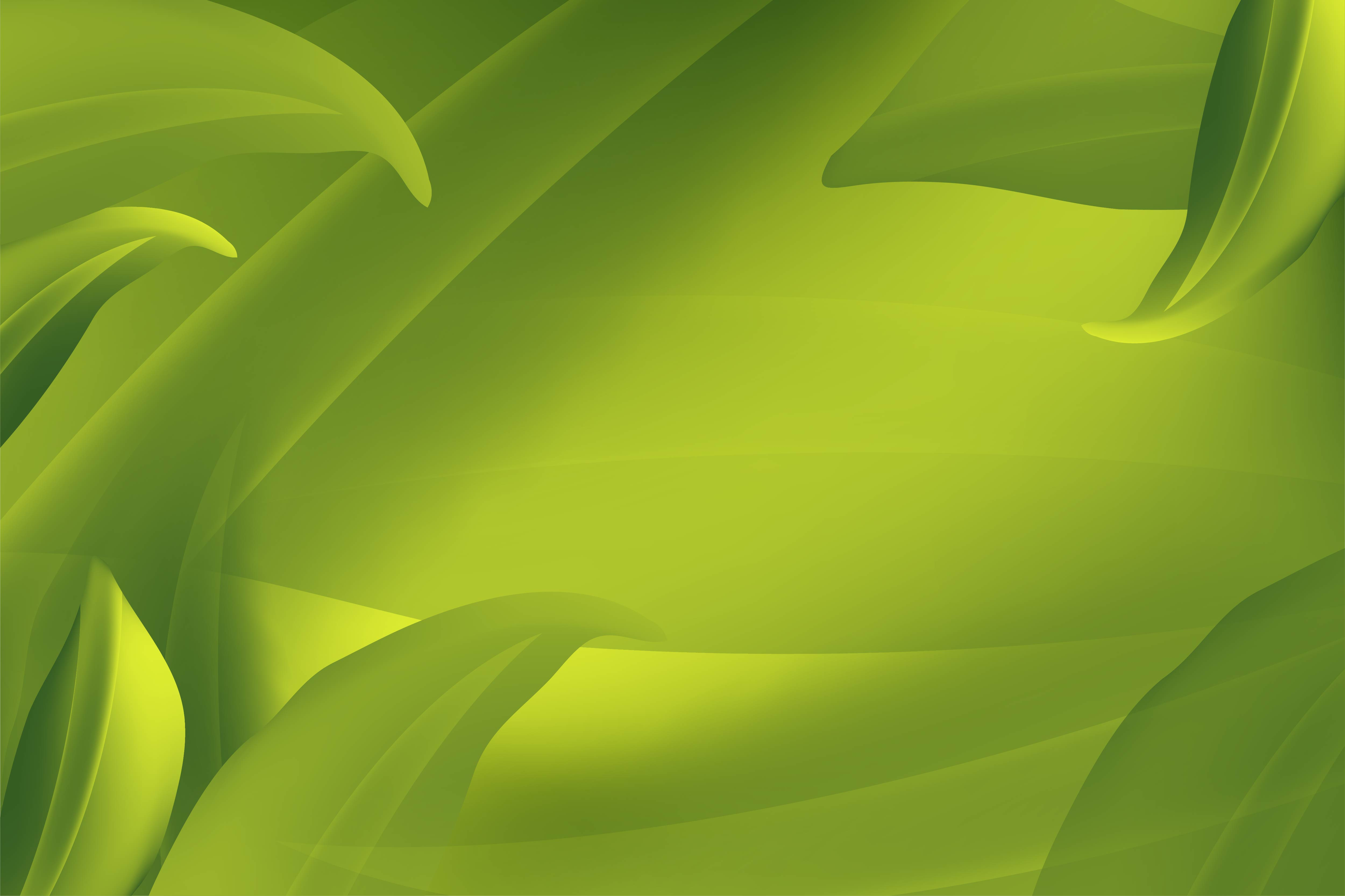 Download Free Realistic Fly Green Leaves Pattern Background On A Green Organic SVG Cut Files