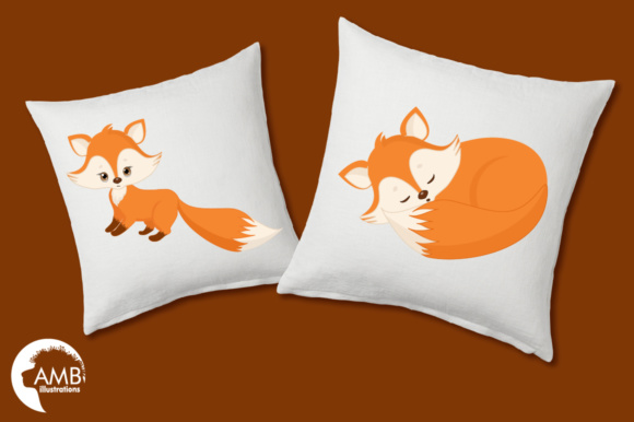 Red Foxes Clipart Graphic Illustrations By AMBillustrations - Image 3