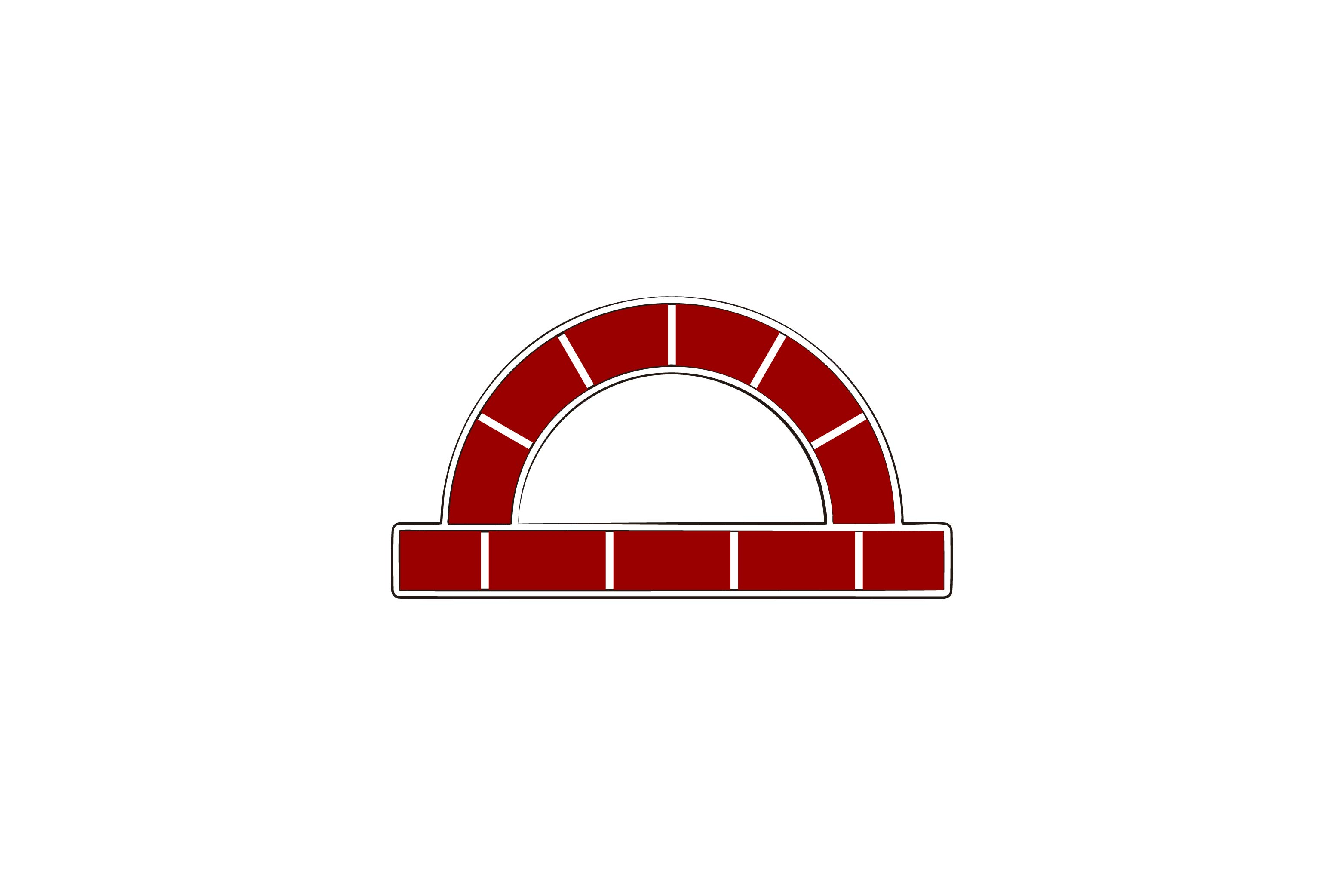 Download Free Red Brick Furnace Logo Design Inspiration Graphic By for Cricut Explore, Silhouette and other cutting machines.