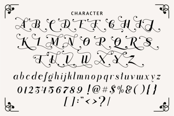 Print on Demand: Rhonde Display Font By putracetol - Image 5