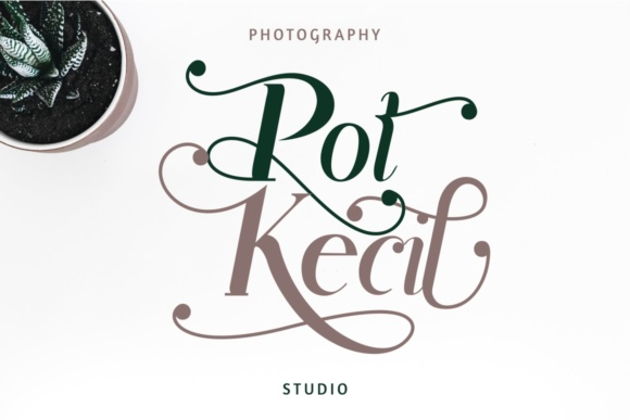 Print on Demand: Rhonde Display Font By putracetol - Image 6