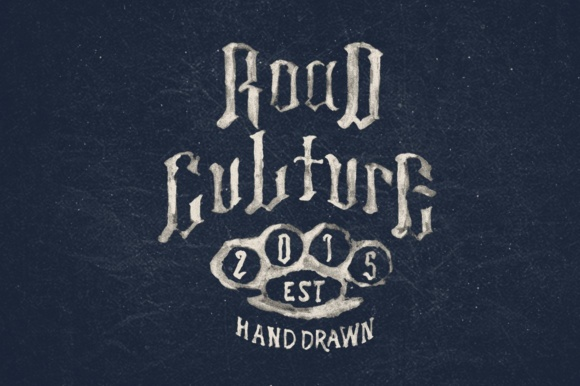 Print on Demand: Road Culture Display Font By maghrib