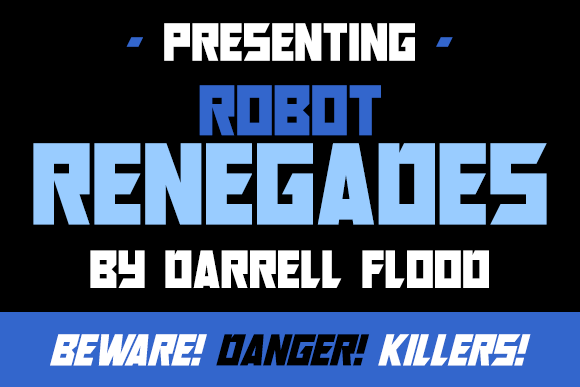 Robot Renegades Font By Dadiomouse Image 1