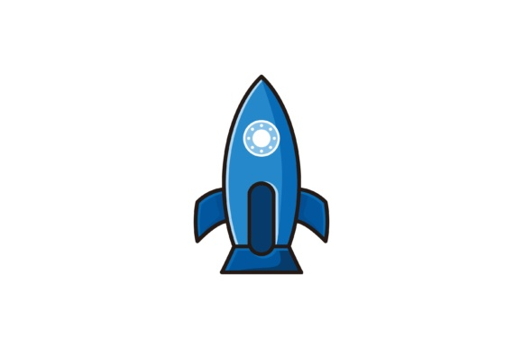 Print on Demand: Rocket Creative Logo Design Inspiration Graphic Logos By yahyaanasatokillah