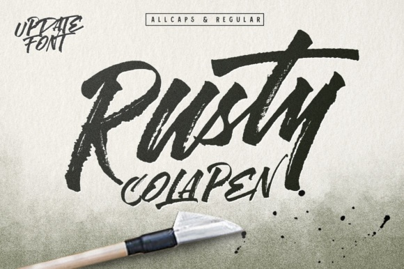 Download Free Rusty Cola Pen Font By Maghrib Creative Fabrica for Cricut Explore, Silhouette and other cutting machines.