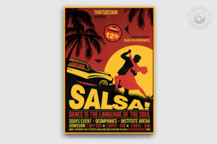Salsa Flyer Template V3 Graphic By ThatsDesignStore