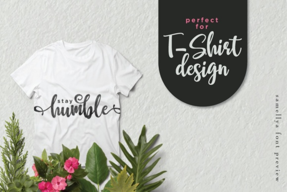 Print on Demand: Samellya Script & Handwritten Font By Mas Anis - Image 8