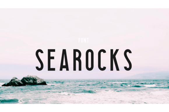 Print on Demand: Searocks Sans Serif Font By Roman Paslavskiy