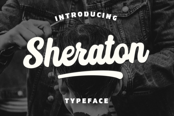 Print on Demand: Sheraton Script & Handwritten Font By Pasha Larin