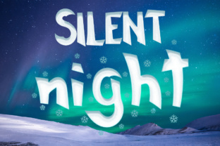 Print on Demand: Silent Night Display Font By Lickable Pixels