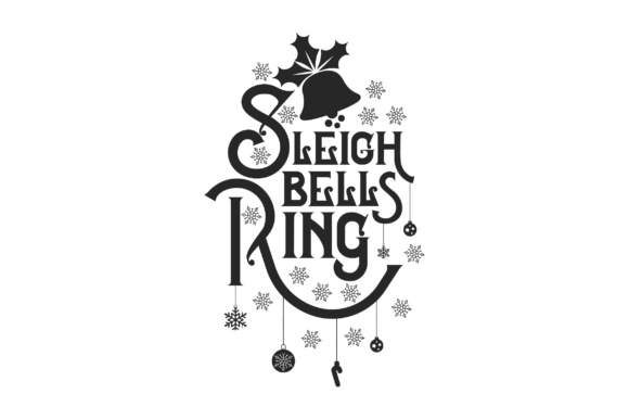 Download Free Sleigh Bells Ring Svg Cut File By Creative Fabrica Crafts for Cricut Explore, Silhouette and other cutting machines.