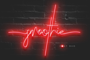 Smoothie Duo Font By Factory738