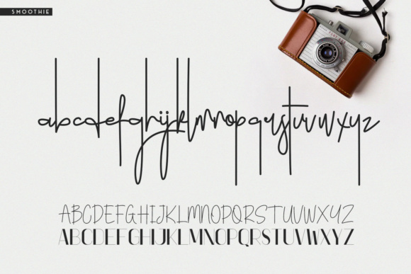 Print on Demand: Smoothie Duo Script & Handwritten Font By Factory738 - Image 6