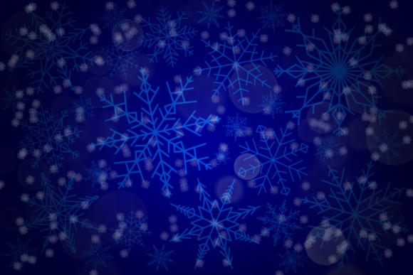 Print on Demand: Snowflakes Brush Set - for Procreate Graphic Brushes By MuSan - Image 4