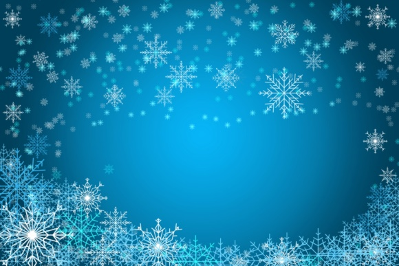 Print on Demand: Snowflakes Brush Set - for Procreate Graphic Brushes By MuSan - Image 1