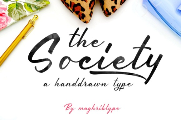 Print on Demand: Society Dingbats Font By maghrib
