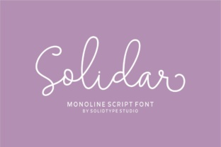 Solidar Font By Solidtype