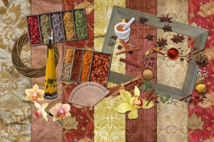 Spices Clipart Graphic By retrowalldecor