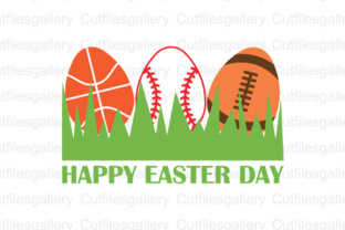 Download Free Sport Happy Easter Cut File Graphic By Cutfilesgallery for Cricut Explore, Silhouette and other cutting machines.