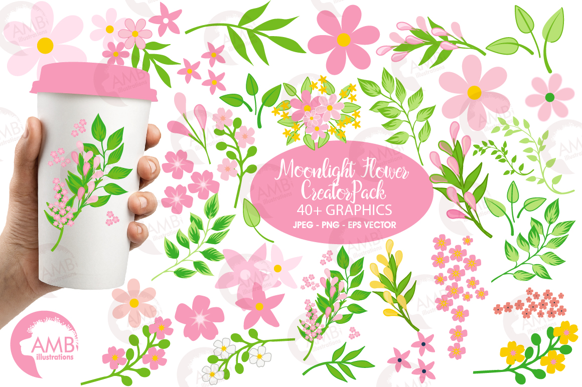 Spring Flower Creator Pack Graphic By Ambillustrations Creative