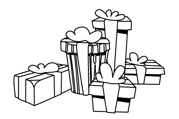 Download Free Stack Of Christmas Gifts Svg Cut File By Creative Fabrica Crafts for Cricut Explore, Silhouette and other cutting machines.