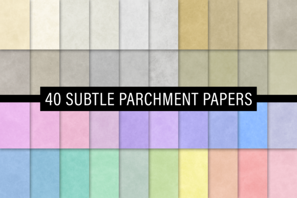Print on Demand: Subtle Parchment Papers Graphic Textures By JulieCampbellDesigns