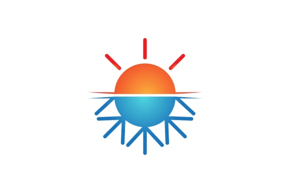 Print on Demand: Sun Beach Logo Graphic Logos By yahyaanasatokillah