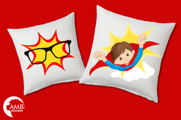 Download Free Superhero Boys Graphic By Ambillustrations Creative Fabrica for Cricut Explore, Silhouette and other cutting machines.