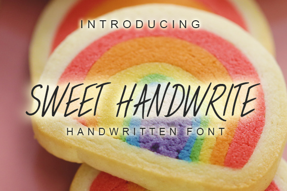 Print on Demand: Sweet Handwrite Script & Handwritten Font By vladimirnikolic