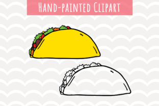 Download Free Taco Clip Art Graphic By Vector City Skyline Creative Fabrica for Cricut Explore, Silhouette and other cutting machines.