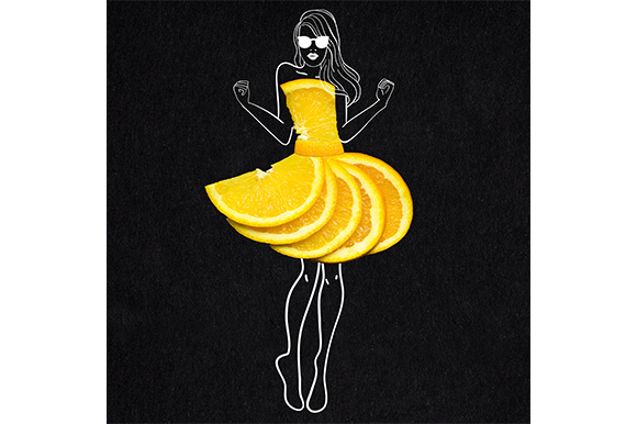 Taste of Fashion Graphic Food & Drinks By Sasha_Brazhnik