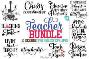 Teacher SVG Bundle Graphic By thedesignhippo