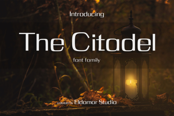 Print on Demand: The Citadel Serif Font By Eldamar Studio Fonts - Image 1