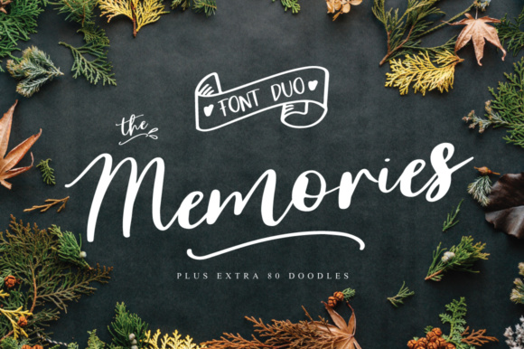 Print on Demand: The Memories Manuscrita Fuente Por Studio_Art