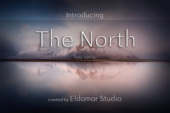 Print on Demand: The North Serif Font By Eldamar Studio Fonts