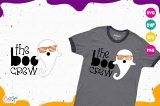 Download Free The Boo Crew Graphic By Cute Files Creative Fabrica for Cricut Explore, Silhouette and other cutting machines.